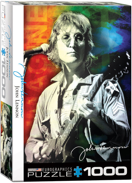 "Jigsaw Puzzle | ""John Lennon Live in New York"""