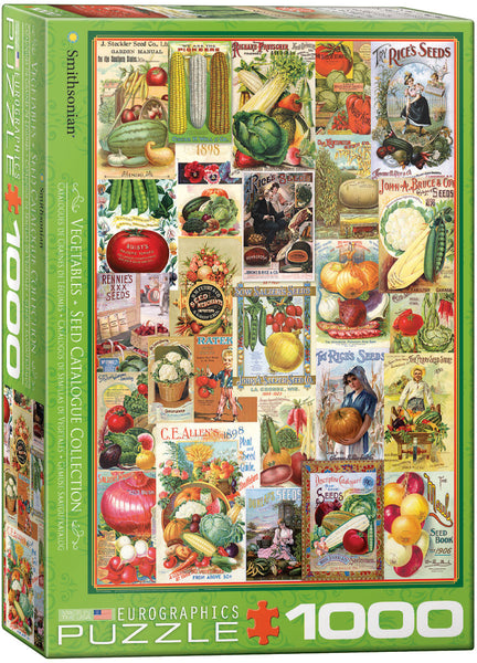 "Jigsaw Puzzle | ""Vegetable Seed Catalogue"""