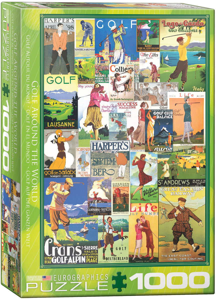 "Jigsaw Puzzle | ""Golf Around the World"""