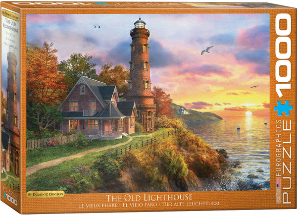 "Jigsaw Puzzle | ""The Old Lighthouse"""