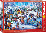 "Winter Jigsaw Puzzle | ""Snow Day"""