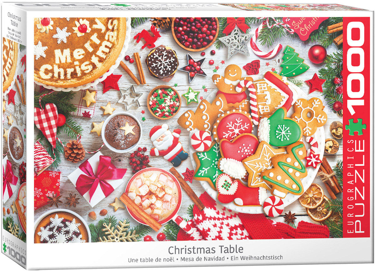 "Jigsaw Puzzle | ""Christmas Table"""