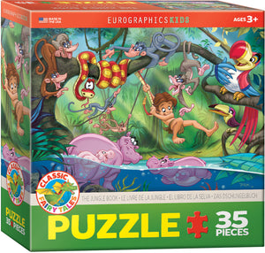 "Story Book Jigsaw Puzzle | ""The Jungle Book"""