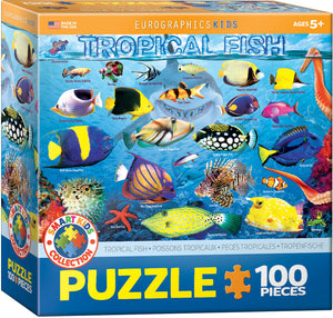"Kids' Jigsaw Puzzle | ""Tropical Fish"""