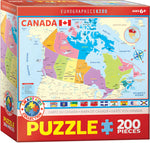 "Jigsaw Puzzle | ""Map Canada"""