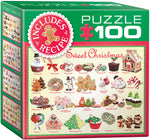 "Mini Jigsaw Puzzle | ""Sweet Christmas"". 100 Mini Pieces. $5"
