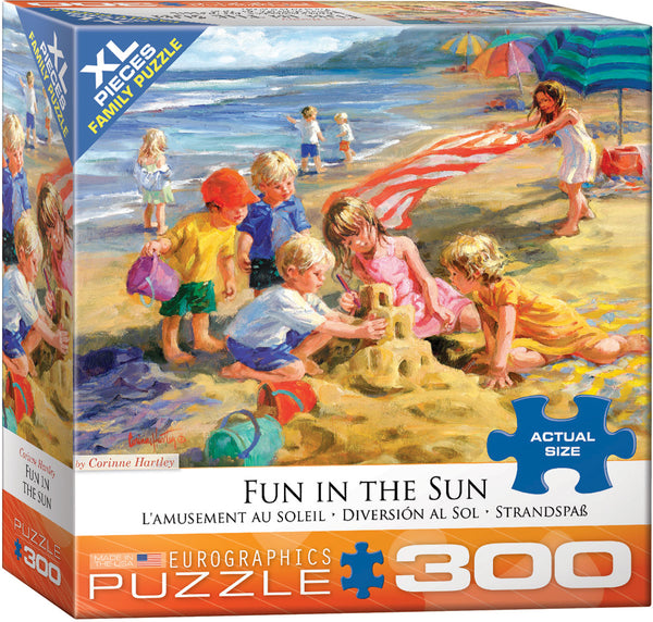 "Jigsaw Puzzle with 300 X-LG pieces | ""Fun in the Sun"""