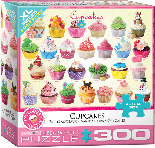 "Jigsaw Puzzle X-LG | ""Cupcakes"""
