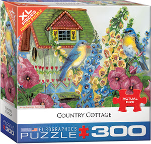"Jigsaw Puzzle X-LG Pieces | ""Country Cottage"""