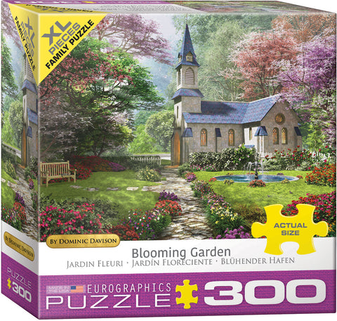 "300 X Lg Piece Jigsaw Puzzle | ""Blooming Garden"""