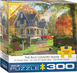 "Jigsaw Puzzle X-LG | ""The Blue Country House"""