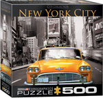 "Jigsaw Puzzle - ""New York City Yellow Cab"" - 500 pieces.  $16.99"