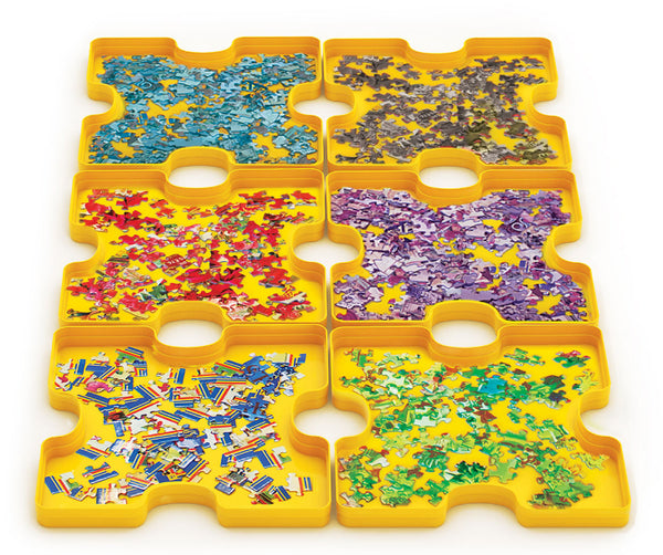 6 Sort & Store Jigsaw Puzzle Trays
