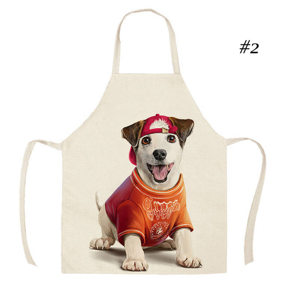 More Cute Aprons with Doggy Designs!