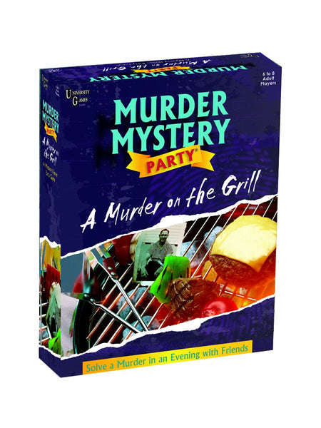 "Murder Mystery Party | ""A Murder on the Grill"""