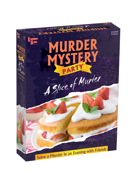 "Murder Mystery Party | ""Slice of Murder"" by University Games"