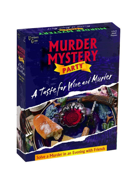 "Murder Mystery Party | ""A Taste for Wine and Murder"""