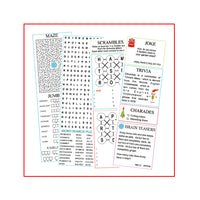 Christmas Cracker Activity Sheets