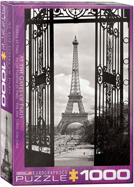 "Jigsaw Puzzle | ""At the Gates of Paris"""