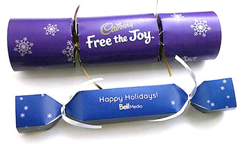 Corporate Branded Crackers | Bell Media & Cadbury