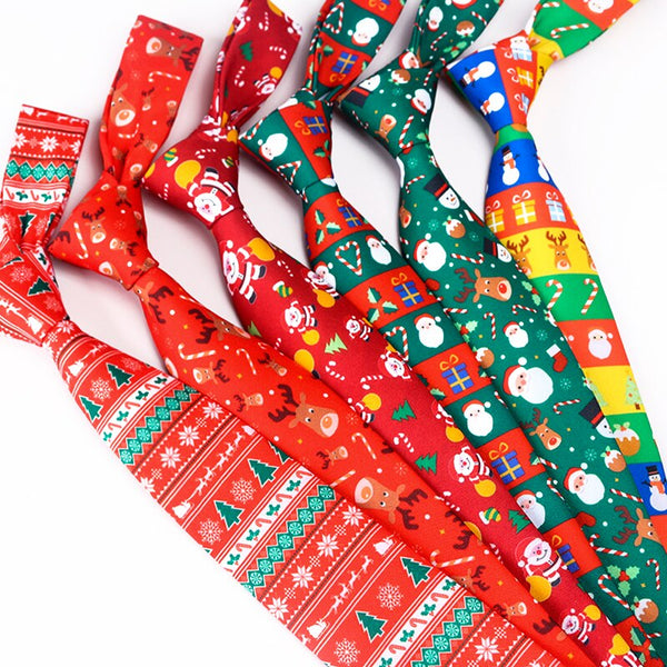 Christmas Holiday Neckties