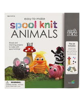"Corker Spool Project Book - ""Spool Knit Animals"""