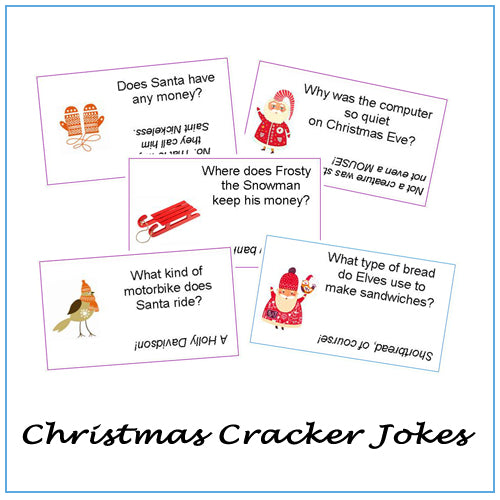 Christmas Cracker Jokes