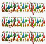 "Christmas Crackers with Artisan Fused Glass - ""Colourful Trees"""