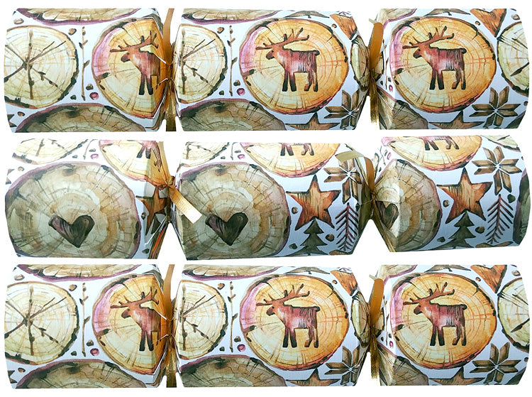 "Cottage Party Crackers | ""Family Word Scramble"""