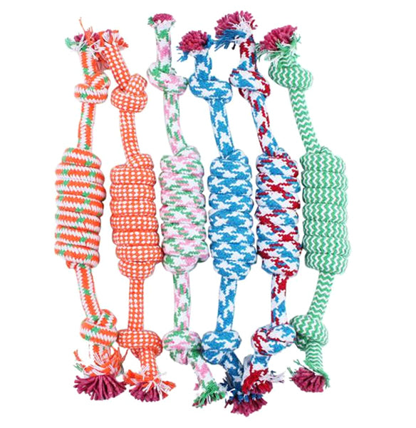 Colourful Dog Rope Chews