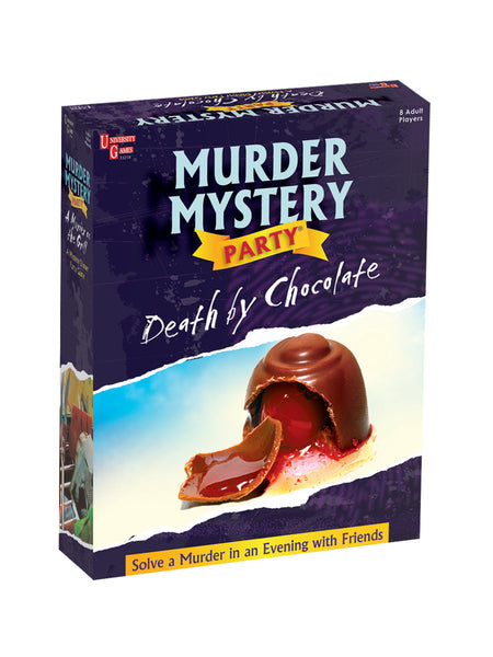 "Murder Mystery Party | ""Death by Chocolate"" by University Games"