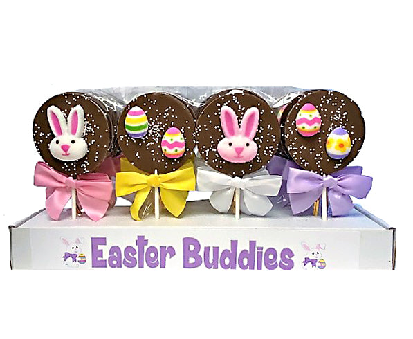 Easter Buddies Chocolate Pops
