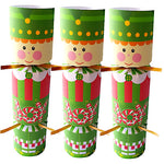 Kids' Christmas Crackers with Wood Pirate Whistles