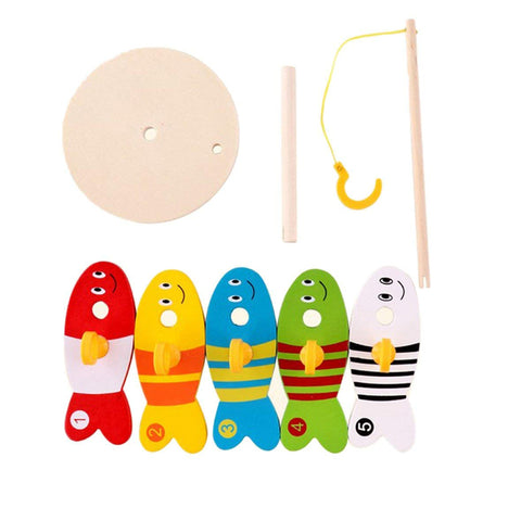 Wood Fish Game for young children