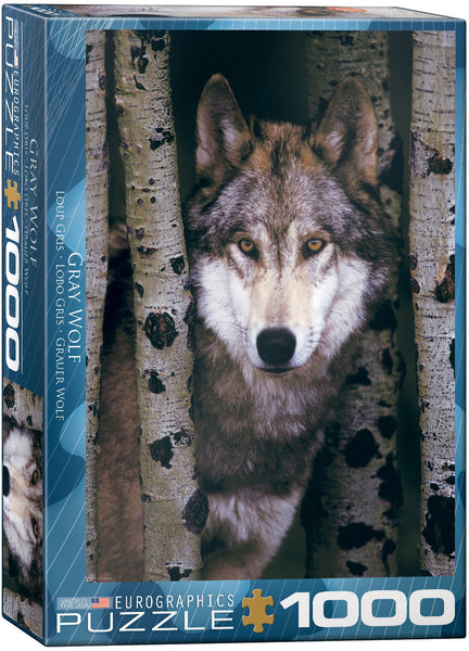 "Jigsaw Puzzle | ""Gray Wolf"""