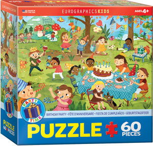 "Kids' Jigsaw Puzzles | ""Birthday Party"""