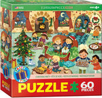 "Kids' Jigsaw Puzzle | ""Christmas Party"" - 60 Pieces"