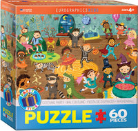 "Kids' Jigsaw Puzzle | ""Costume Party"" - 60 puzzle pieces"