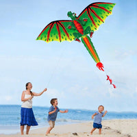 Green Dinosaur Kite