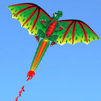 Green Dinosaur Cloth Kite