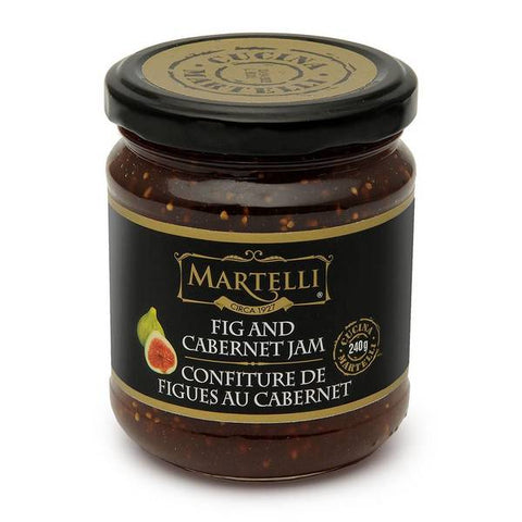 Martelli Fig & Cabernet Jam from Sunny Greece