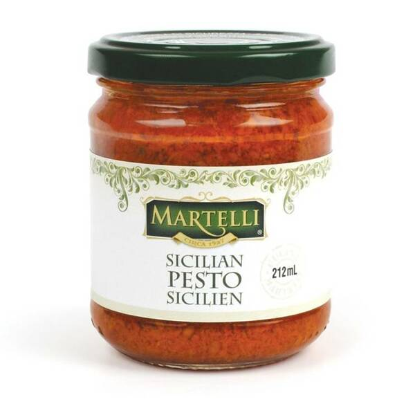 Martelli Sicilian Red Pesto 212 ml