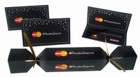Custom Branded Logo Crackers for Costco and MasterCard campaign