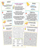 Easter Activity Sheets