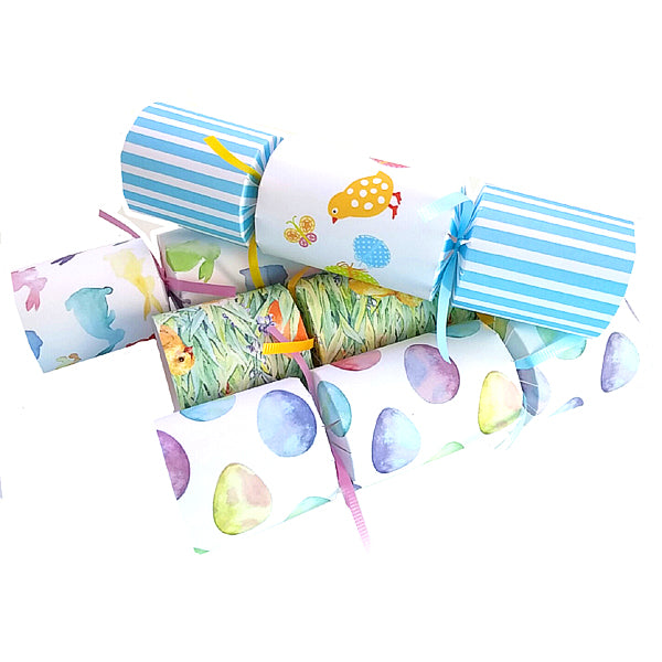 Easter Crackers with chocolate for chocolate lovers