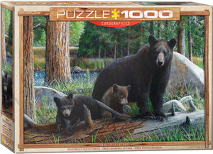 "Jigsaw Puzzle | ""Mother Bear and Cubs"""