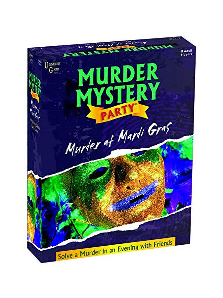 "Murder Mystery Party | ""Murder at Mardi Gras"""