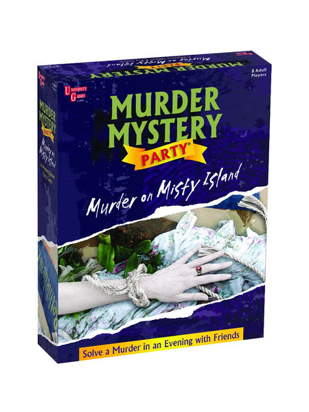 "Murder Mystery Party | ""Murder on Misty Island"""