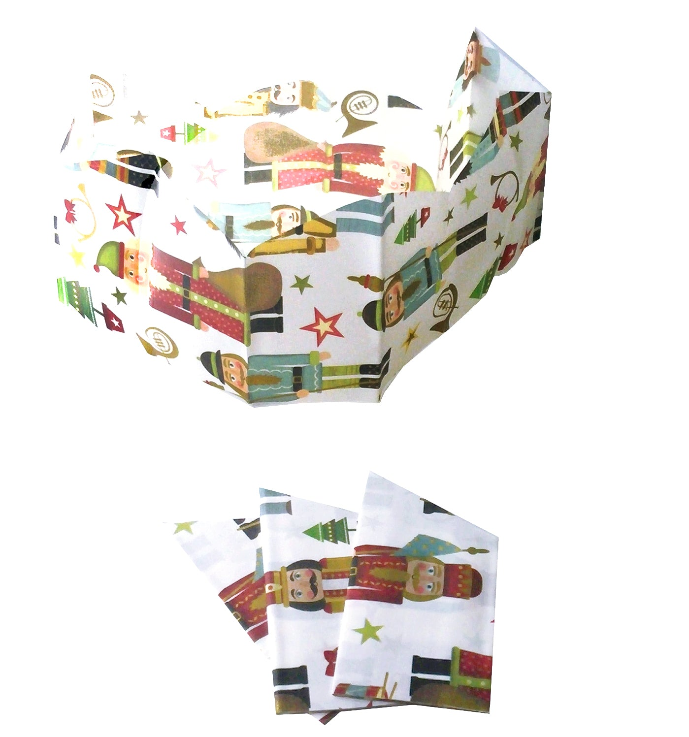 "Paper hats for Christmas Crackers | ""The Nutcrackers"""