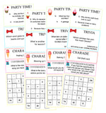 Birthday Cracker Activity Sheets